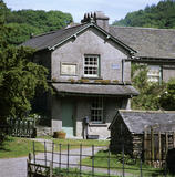 View of Hill Top, the farmhouse home of Beatrix Potter