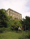 This is a view of the South Front of the property, it was added in Gothic style, c. 1810