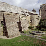 The rear of The Old Post Office at Tintagel