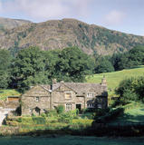(FL) A view of the Waterhead Cottages on the Monk Coniston Estate in the Lake District which were acquired by Beatrix Potter in 1930 and conveyed to the National Trust after her death in 1944