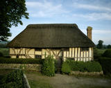 View of the front of Alfriston Clergy House