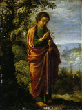 ST JOHN THE EVANGELIST by Adam Elsheimer (c1578-1610) from Petworth House