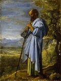 ST PAUL by Adam Elsheimer (c1578-1610) from Petworth House one of a series of paintings of the apostles