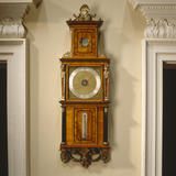 Detail of Barometer by Justin Vulliamy in the North Staircase at Nostell Priory
