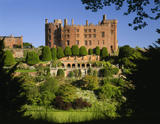 View of Powis Castle from the Wilderness