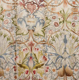 Detail of the silk tapestry in the North Bedroom, worked by Mrs Beale and her daughters