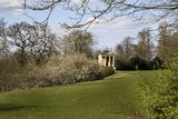 The eighteenth-century IonicTemple, originally intended as a banqueting house at Rievaulx Terrace & Temples, North Yorkshire