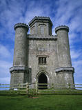A fine view of Paxton's Tower, Carmarthenshire standing out against the sky