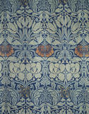 "Close view of ""Tulip and Rose"" wool curtains by William Morris in the Great Parlour at Wightwick Manor"