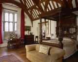 The North Bedroom at Great Chalfield Manor, near Melksham, Wiltshire