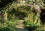 The pear arch in the garden at Bateman's, Rudyard Kipling's home from 1902-1936