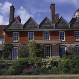 The exterior of Standen, built in 1891-4 by Philip Webb