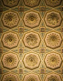 Detail of the ceiling in the Drawing Room at Osterley Park with octagon compartments