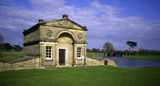 The Fishing Room or Pavilion by Robert Adam, built between 170-2 at Kedleston Hall, Derbyshire