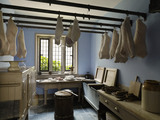 The Meat Larder at Lanhydrock, Cornwall