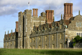 The west front of Knole built between 1543 and 1548 for Henry VIII, at Sevenoaks, Kent