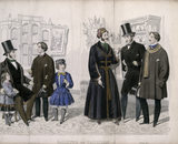 Gazette of Fashion, January 1857, Leroy r