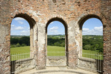 View from the Orangery over the landscape at Gibside, Newcastle upon Tyne