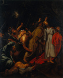 BETRAYAL OF CHRIST after Van Dyck, painting at Kingston Lacy
