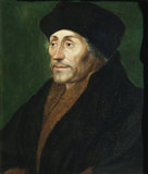 ERASMUS after Hans Holbein the Younger, painting photographed without the frame, in the Green Closet at Ham House, Richmond-upon-Thames