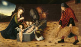 THE NATIVITY WITH ADORING CHILD ANGELS by Lucas Cranach the Elder