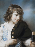 EDWARD RICE, (born 1779), a pastel by John Russell (1745-1806)