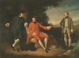 WILLIAM WEDDELL AND WILLIAM PALGRAVE by Nathaniel Dance (1735-1811)