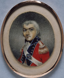 ARMY OFFICER a miniature of the British School, c.1800-10