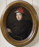 THOMAS KYMER OF KIDWELLY (1722-1782), 1754,  by Gavin Hamilton, (1723-1798)
