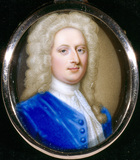 ANTHONY CHUTE, a miniature on enamel by Zincke