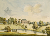 VIEW OF THE HOUSE AND PARK AT DUDMASTON, SHROPSHIRE, 1793 designed by Moses Griffith (1747-1819)