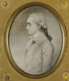 ANTONY GIBBS, (1756-1815), founder of Antony Gibbs & Sons, a miniature by John Downman ARA (