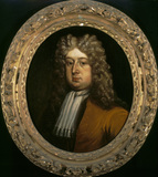 JOHN BANKES THE ELDER (1665-1714) by Thredder, 1702, from the Cabinet Room at Kingston Lacy, Dorset)
