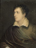 BYRON, a coloured print from the Drawing Room at Kingston Lacy