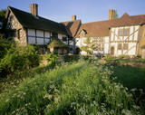 View of the garden at Stoneacre in Kent
