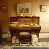 View of the piano in the Sitting Room of Mr Straw's House