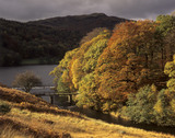 An autumnal view of Grasmere, Lake District, Cumbria