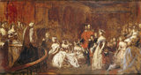 THE MARRIAGE OF THE PRINCESS ROYAL by John Phillip RA
