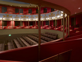 The auditorium at the Theatre Royal, Bury St Edmunds, Suffolk