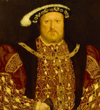 HENRY VIII by Holbein from the 'O' Room at Blickling Hall