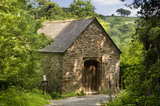 The Chapel in the Woods at Cotehele, near Saltash, Cornwall