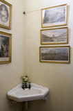 The Study Cloakroom at Polesden Lacey, nr Dorking, Surrey