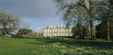 View of the north front of Antony House in spring, built in the Jacobean era, possibly designed by James Gibbs