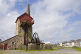 The engine house at Cornish Mines & Engines at Pool, near Redruth, Cornwall