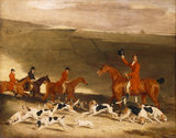FRANCIS DUCKINFIELD ASTLEY AND HIS HARRIERS by Ben Marshall (1767-1835)