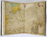 Atlas of the Counties of England and Wales by Christopher Saxton, London 1574-79