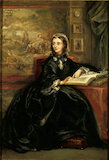 GEORGIANA, LADY CHATTERTON by Rebecca Dulcibella Orpen, then Mrs Ferrers, after Buckner.This