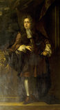 "PORTRAIT OF ""YOUNG"" SIR JOHN BROWNLOW (1659-1697) by John Riley the builder of Belton House"