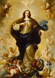 THE IMMACULATE CONCEPTION by Miguel Melendez (1679-c. 1736)