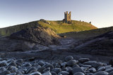 Dunstanburgh Castle from the Embleton side looking south, Northumberland